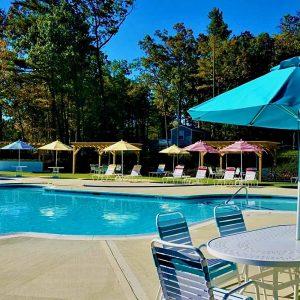 pool at Pine Lake RV resort
