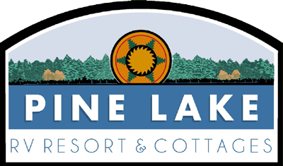Pine Lake RV Resort & Cottages Logo